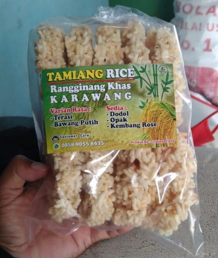 Taminag Rice | Rangginang